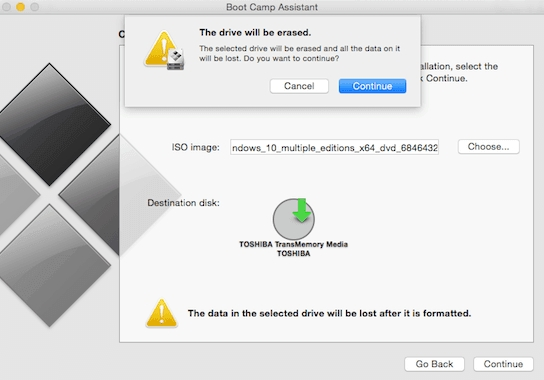 Run Windows on Mac using Boot Camp Assistant