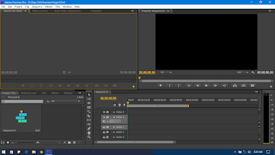 Adobe Premiere Pro CS6 Window