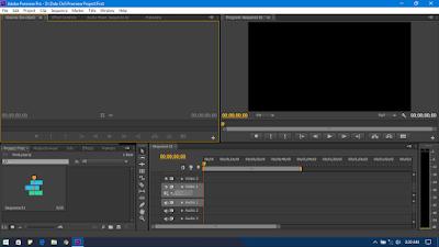 Adobe Premiere Pro CS6 Window