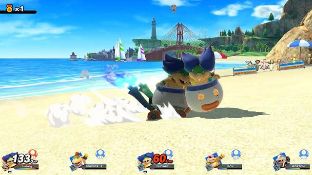 Super Smash Bros. Ultimate Ludwig Von Koopa Spirit Battle Toy-Con Labo Car