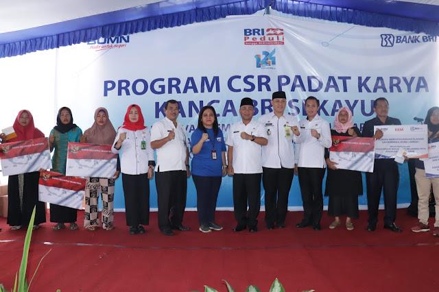 Pemkab Muba Apresiasi Program CSR BRI Sekayu