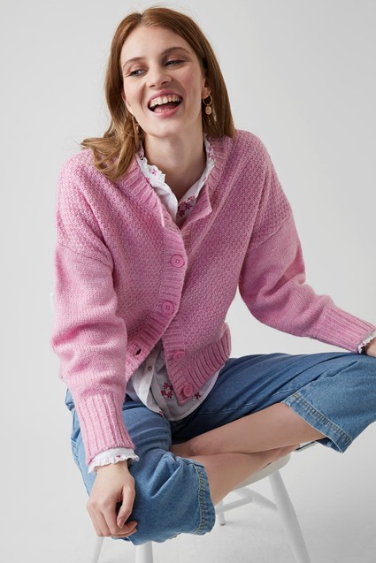 my midlife fashion, Great Plains Winona knit cardigan
