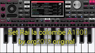 Set Rai la colombe A1000 by Android org2019 original