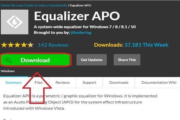اليك برنامج Equalizer APO لتحسين ورفع جودة الصوت على حاسوبك