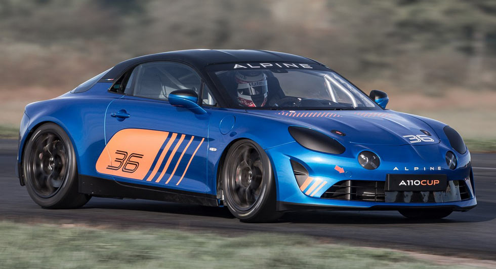 alpine a110 cup unveiled for the 2018 alpine europa cup. Black Bedroom Furniture Sets. Home Design Ideas