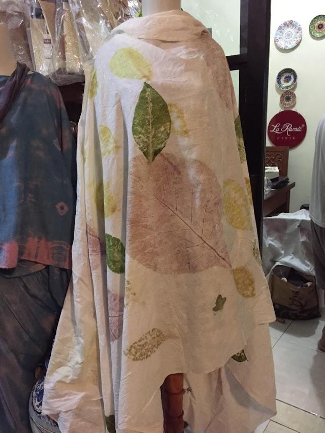 Belajar EcoPrinting Fashion