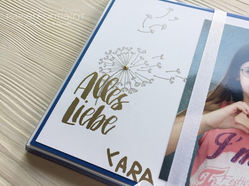 Papierforma R T Kindergarten Abschiedsgeschenk