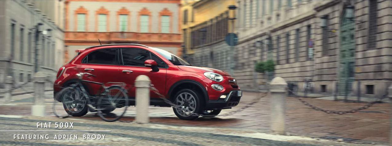 Canzone Fiat pubblicità 500X e 500L Winter Edition con famoso attore, 2016
