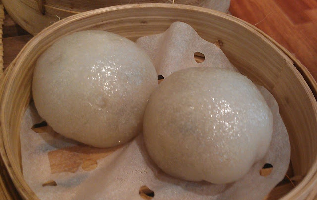 LockCha Teahouse, Hong Kong, steamed golden mushroom bun