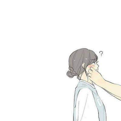 Gambar anime romantis couple perempuan