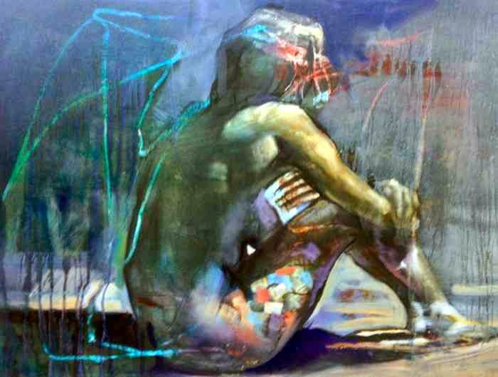 Между изобразительной образностью и памятью. Anthony Barrow