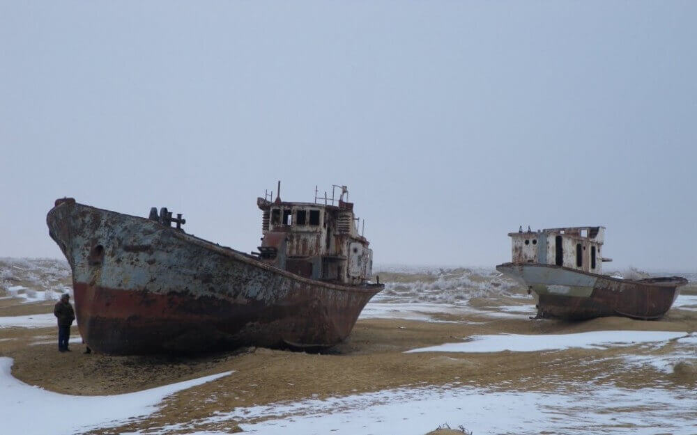 Gemi Mezarlığı Moynak Özbekistan