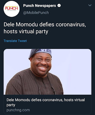 ovation's dele momodu 60th birthday party