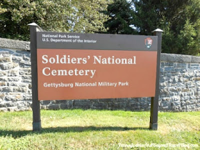 Soldiers National Cemetery in Gettysburg Pennsylvania