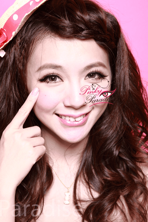 Geo Tri Color Grey Circle Lenses (Colored Contacts)