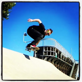 Mark Jansen Skateboarding Adelaide West Beach