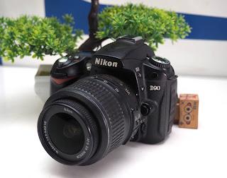 Kamera DSLR Nikon D90 Second