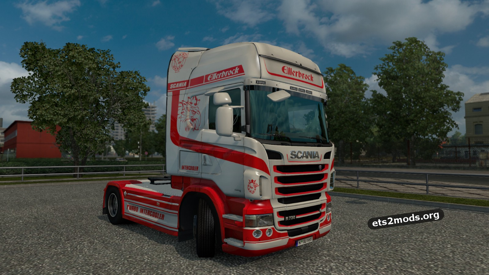 Ellerbrock skin for Scania RJL