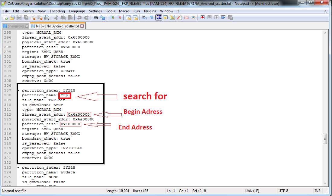 Frp Unlock Fix Sp Flash Tool | Lehuga