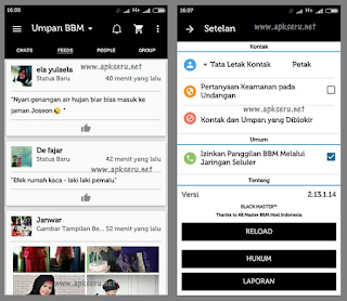 Special Edition, BBM Mod Theme Black V2.13.1.14 New
