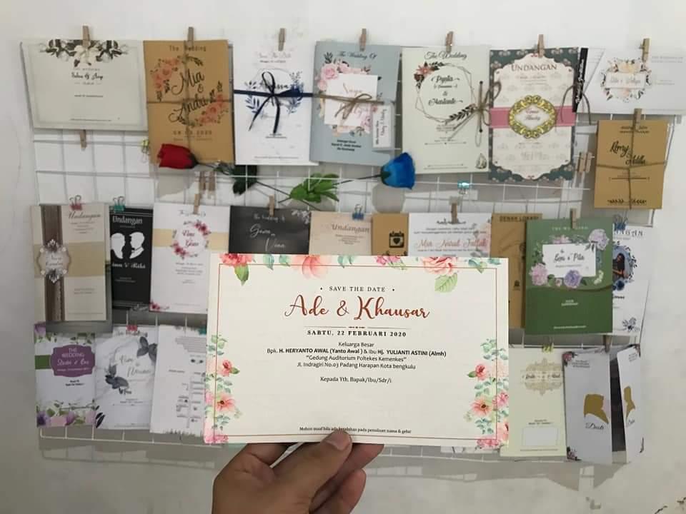 Katalog blangko undangan untuk usaha percetakan