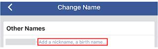 Cara mengubah Tampilan nama di Facebook