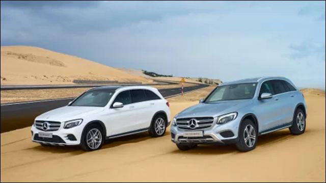 Tương tự Mercedes C-class, Mercedes GLC SUV cũng là dòng xe bán chạy nhất phân khúc