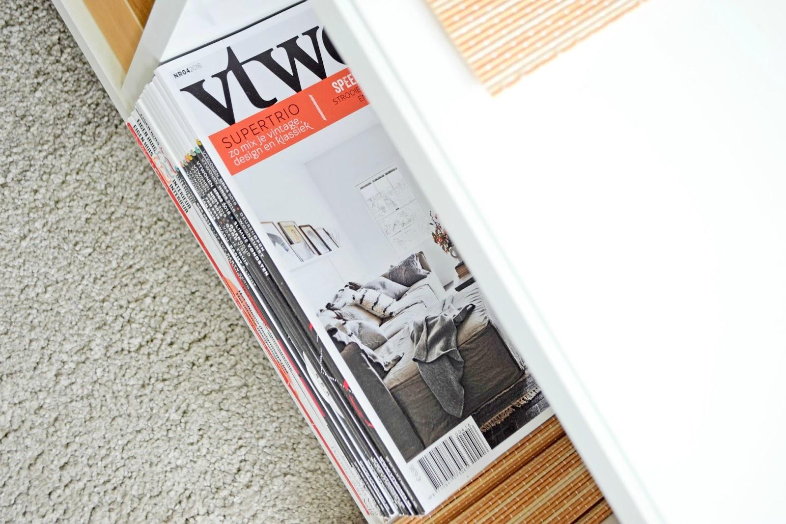 Gdzie wygospodarować miejsce na gazety i magazyny w domu?