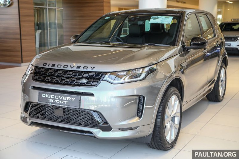 Khám phá chiếc Land Rover Discovery Sport 2020