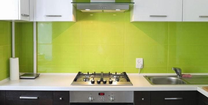 Marzua colores para las paredes de la cocina - Como distribuir una cocina pequena ...