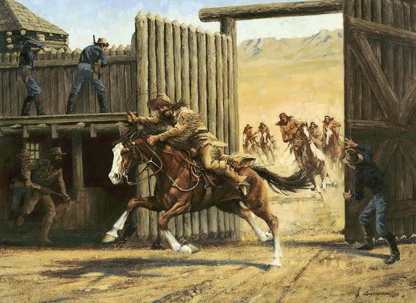 cuadros-de-pistoleros-y-vaqueros