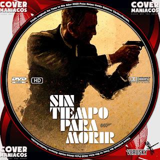 GALLETASIN TIEMPO PARA MORIR - NO TIME TO DIE2020[COVER DVD]