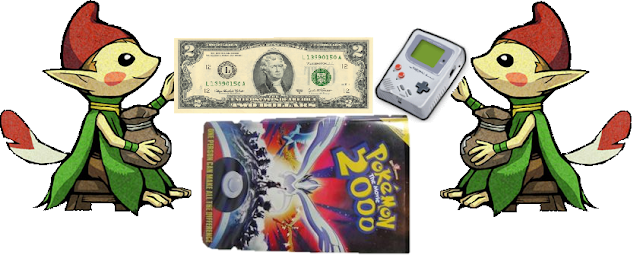 Minish The Legend of Zelda dollar bill Game Boy in your closet hidden items