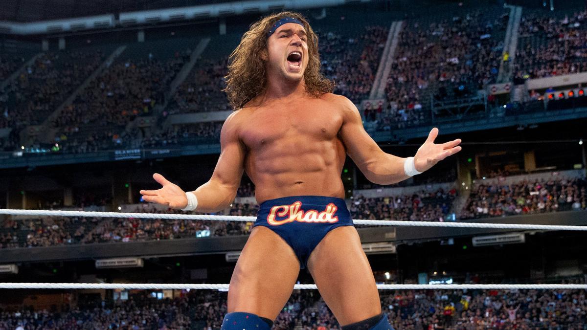 Chad Gable é trazido de volta durante o WWE SmackDown
