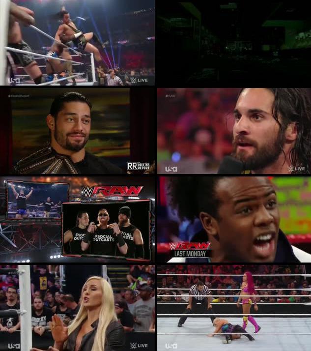 WWE Monday Night Raw 11 July 2016 HDTV 480p