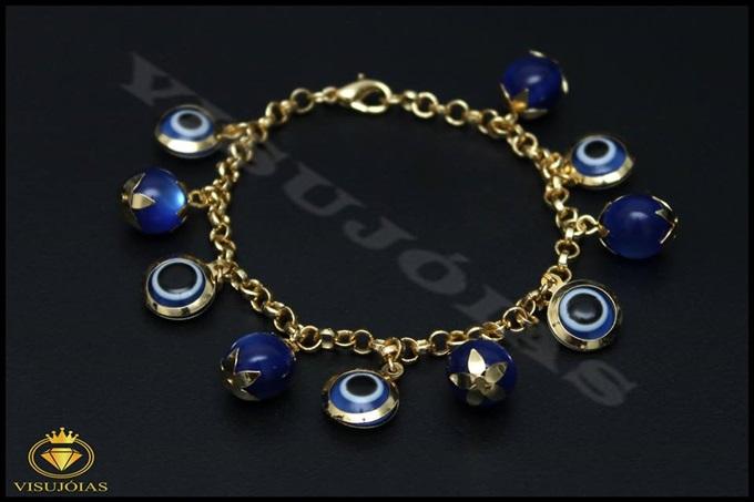 Pulseira semi-jóias