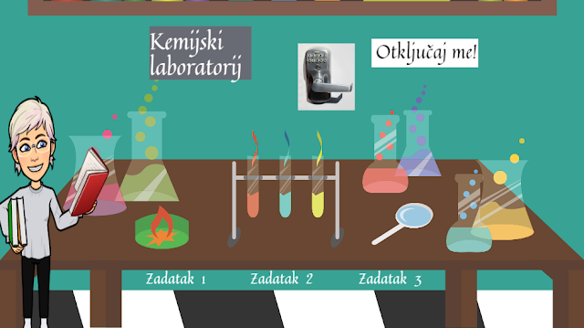 DIGITALNI ALATI - GENIALLY- KEMIJSKI LABORATORIJ