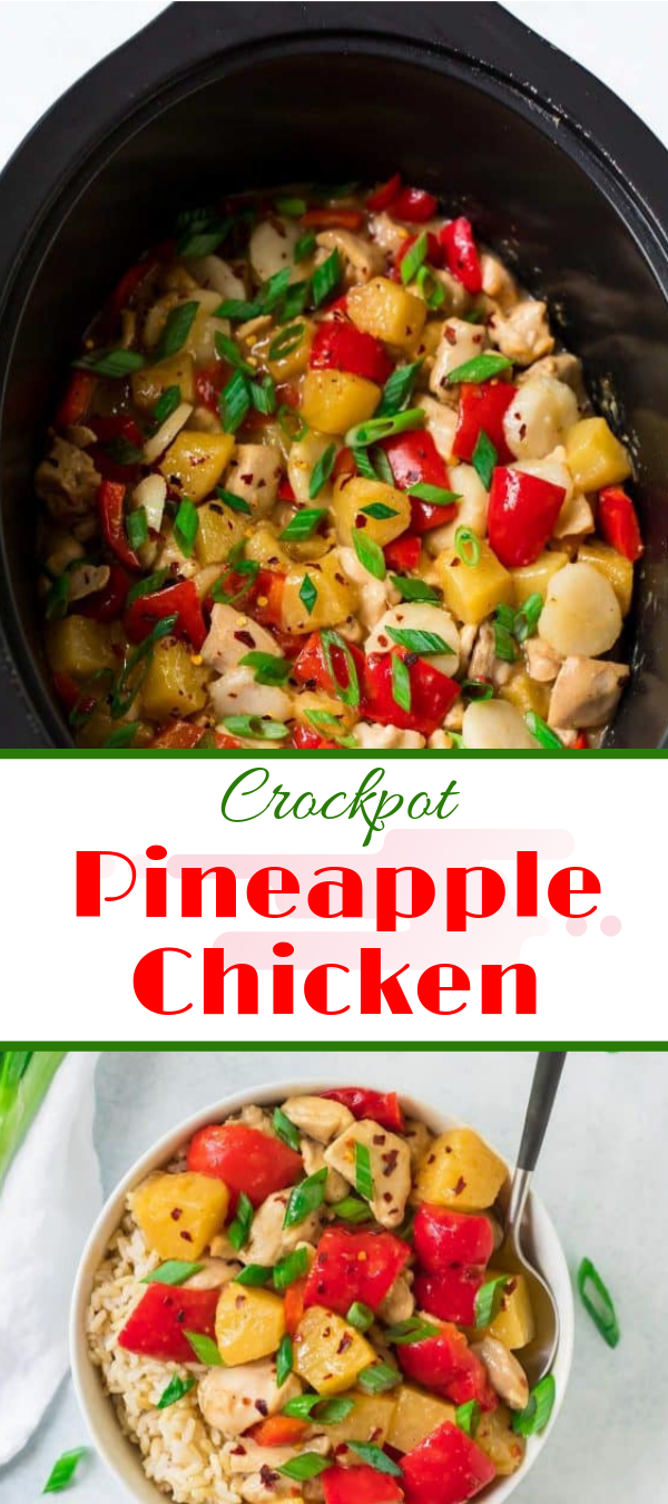 Recipes For Dinner | Crockpot Pineapple Chicken | Chicken Recipes Healthy, Chicken Recipes Easy, Chicken Recipes Baked, Chicken Recipes 21 Day Fix, Chicken Recipes For Dinner, Chicken Recipes Casserole, Chicken Recipes Crockpot, Chicken Recipes Keto, Chicken Recipes Grilled, Chicken Recipes Shredded, Chicken Recipes Mexican