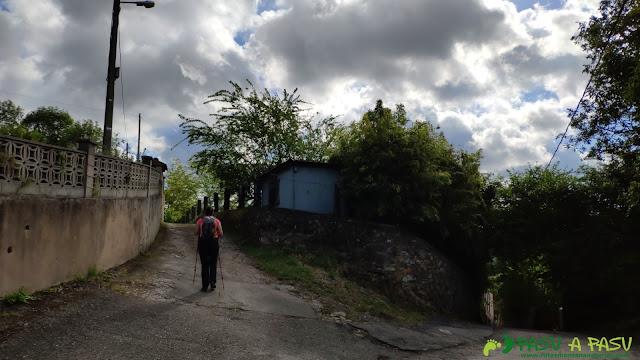 Por Villarín hacia el Monte las Cruces
