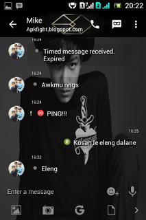 Kumpulan BBM MOD Tema Member EXO v2.13.1.14 Apk Terbaru
