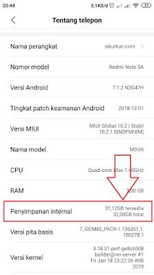 Cara Menambah Kapasitas Memori Internal pada HP Android