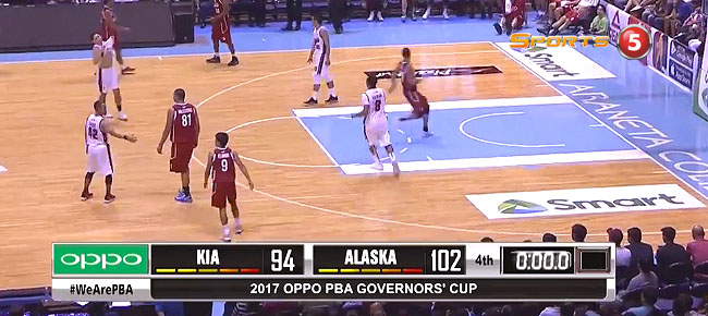 Alaska def. KIA, 102-94 (REPLAY VIDEO) September 10