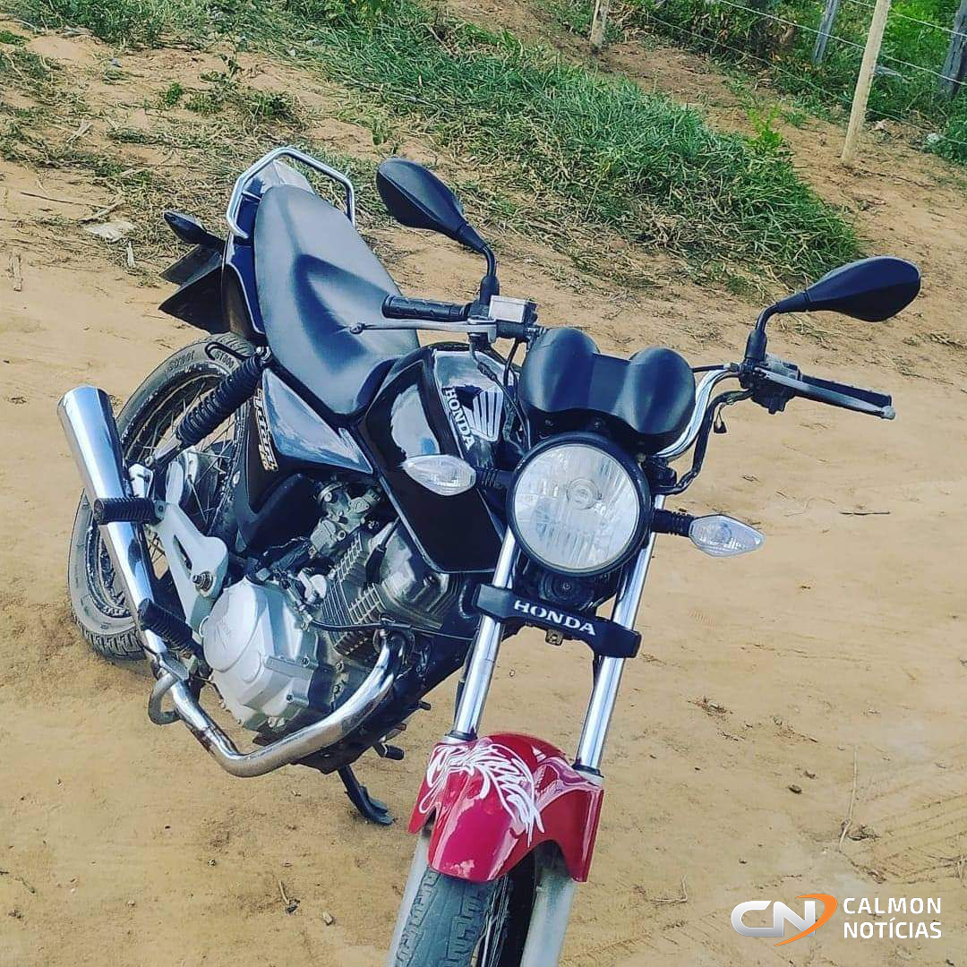 Miguel Calmon: Moto é tomada de assalto no povoado de Lajedo do Braga