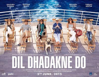 filem hindustan tentang travel dan kekeluargaan, pelayaran kapal mewah, percutian atas kapal mewah, travel to Turki, Anil Kapoor, Ranveer Sigh
