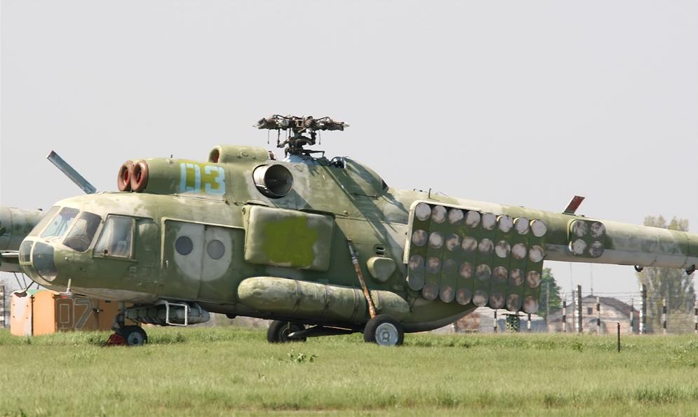 Силам специальных операций Украины передаются четыре вертолета Ми-8