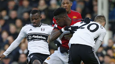 Manchester United Paul Pogba Vs Fulham