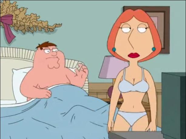 nude lois griffin thong