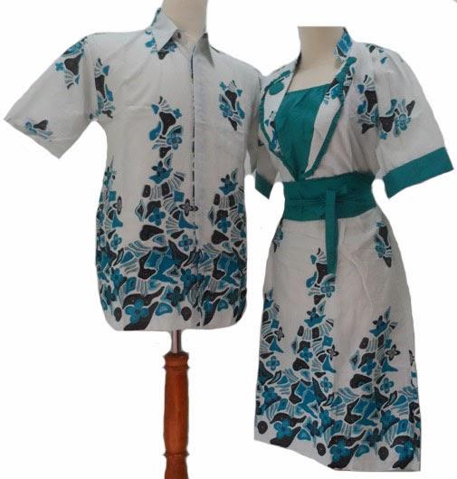 Model Baju Batik Wanita 2015: Model Desain Baju Batik Couple Pria Wanita Terbaru