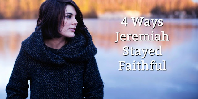"Jeremiah lived ""in the midst of deception"" by following these 4 Biblical Principles."