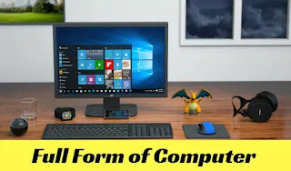 Full form of computer, computer full form